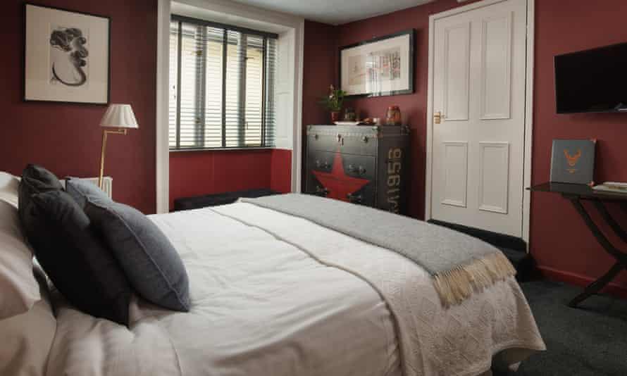 locanda on the weir bedroom