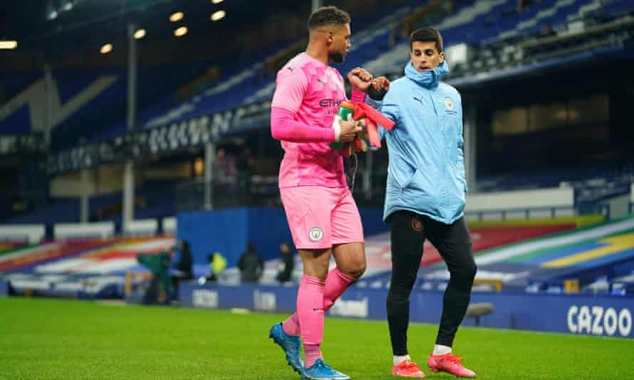 Zack Steffean (left) has played in all Manchester City's FA Cup games this season.
