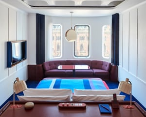 Bon voyage … the ferry-style rooms.