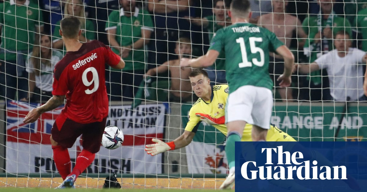 Peacock-Farrell penalty save earns Northern Ireland draw with Switzerland