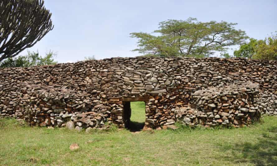 Thimlich Ohinga archaeological site in Kenya.