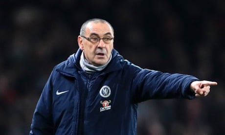 Maurizio Sarri says slamming Chelsea's players was not a risky move