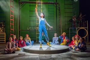 Peter Pan at Storyhouse last December.