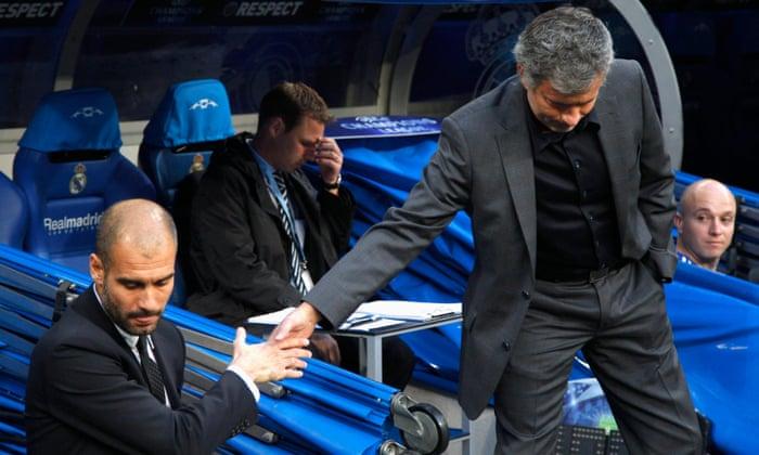 Mourinho v Guardiola: sua rivalidade venenosa finalmente atinge a Premier League