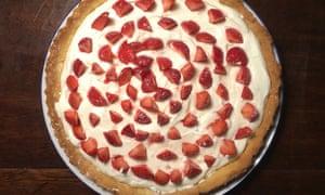Nigel Slater's strawberry tart