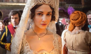 Tuppence Middleton as Hélène Kuragin in War and Peace