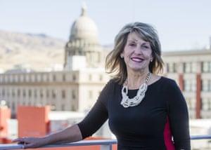 Melinda Smyser, one of Idaho's four presidential electors