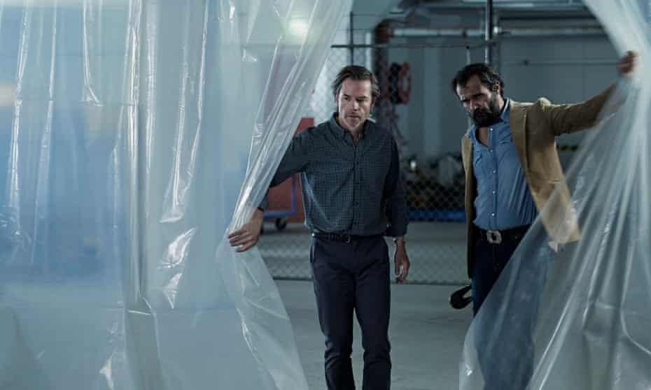 Guy Pearce and Aaron Pedersen in Jack Irish