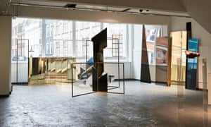 Justin Hibbs' and Rosalind Davis's installation Irreversible Entanglements in the Koppel Project's Poland Street building.