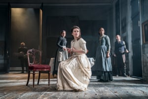 Hayley Atwell and company in Ian Rickson's new production of Rosmersholm.