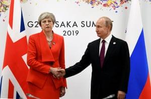 May meets Putin
