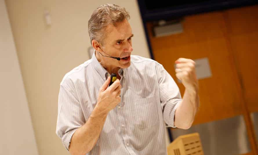 Jordan Peterson, the Canadian psychology professor and author revered by the 'manosphere'.