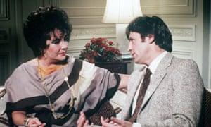 Melvyn Bragg interviewing Liz Taylor in 1981.