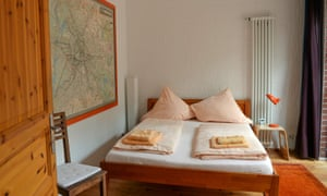 Berlin has recently restricted the letting of whole flats.