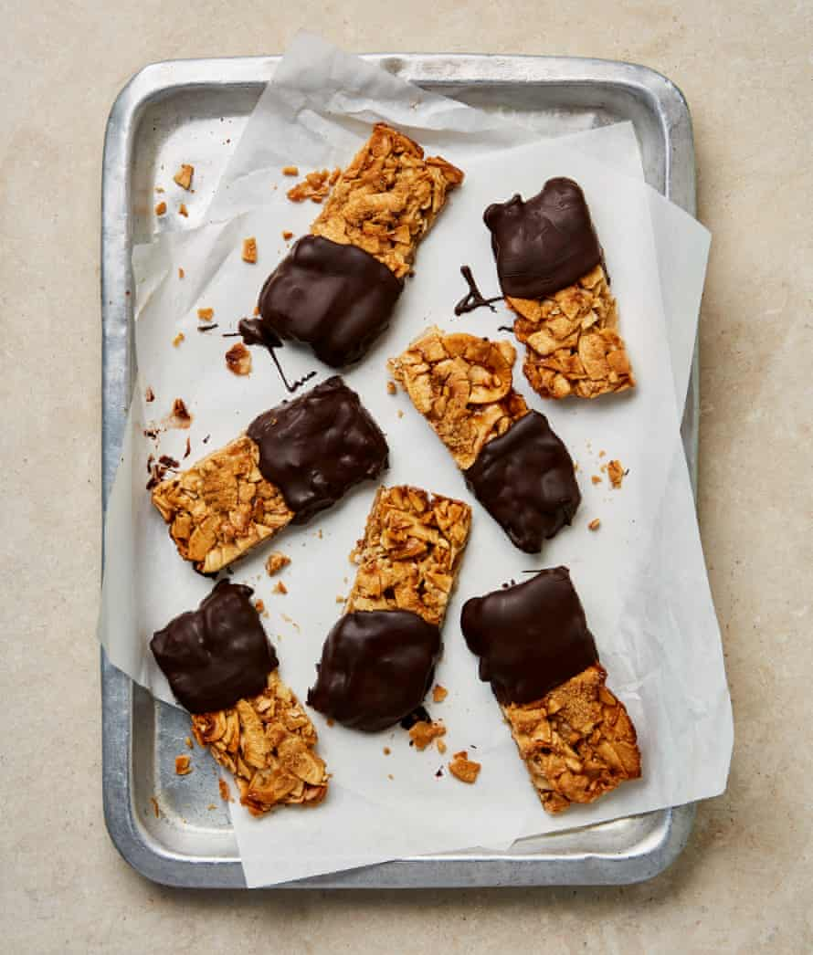 Yotam Ottolenghi's coconut and coffee bars.