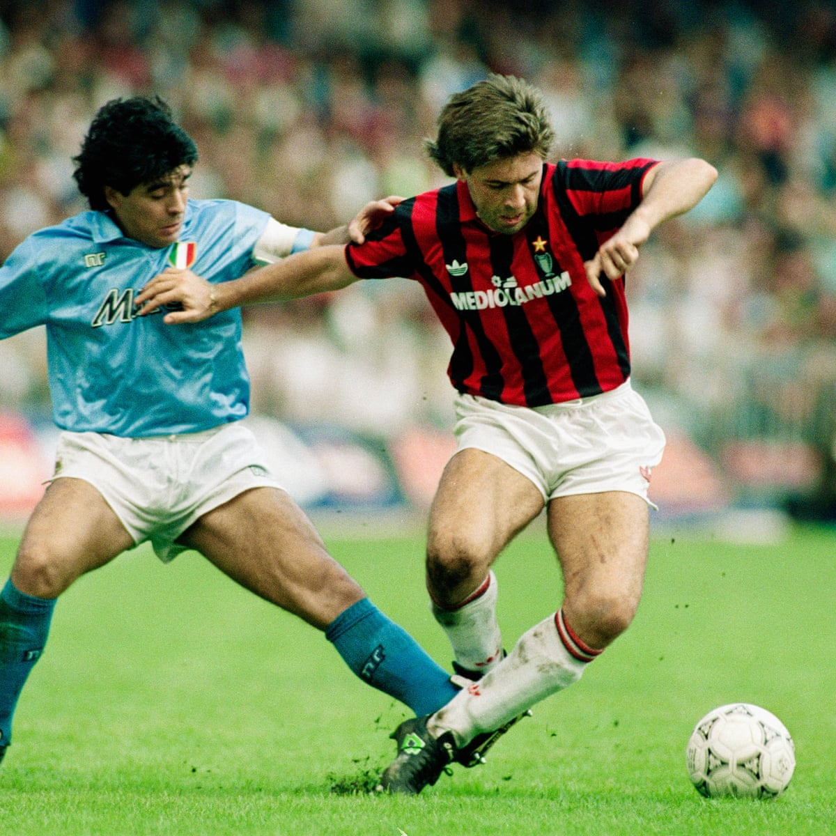 My Opponent Then My Friend Ancelotti Pays Tribute To Maradona Football The Guardian