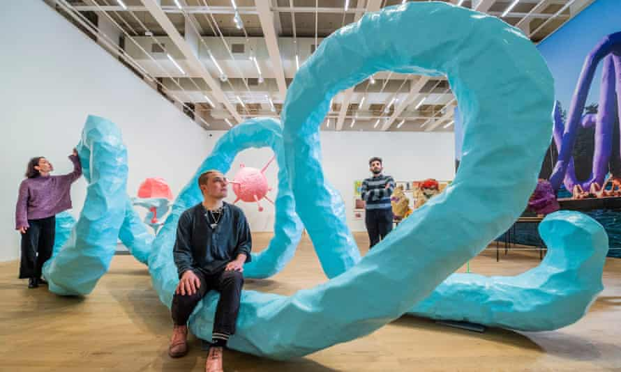The Franz West exhibition at Tate Modern.