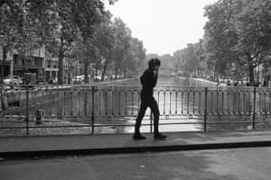 A Paris street scene.