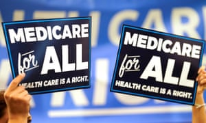 'With Medicare for All gaining steam, it's no surprise that big pharma and multibillion-dollar for-profit insurance companies are responding with distortions and scare tactics.'