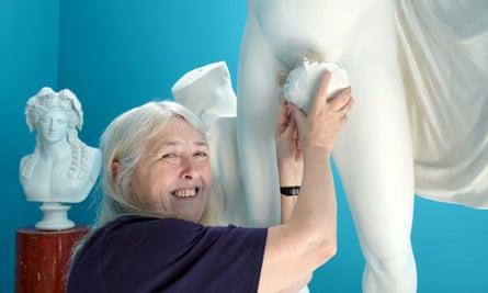 Mary Beard … hands-on approach to art.