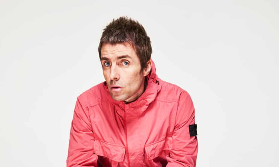 Liam Gallagher photographed last month for the NewReview.