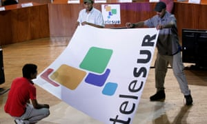 Telesur was launched in 2005 with funding from six regional governments aligned with Venezuela, including Cuba and Bolivia.