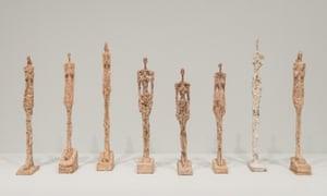 Alberto Giacometti at Tate Modern.
