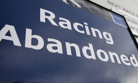 Racing's hope of return in Britain sent back to the drawing board