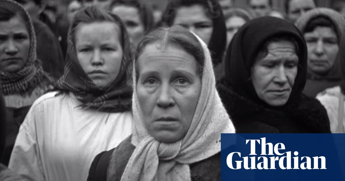 'It's impossible to take your eyes off this infinitely dear face': the startling film about Stalin's funeral