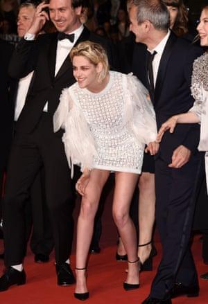 Kristen Stewart at the Personal Shopper premiere.