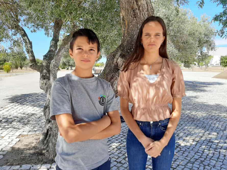 Sofia Oliveira and André