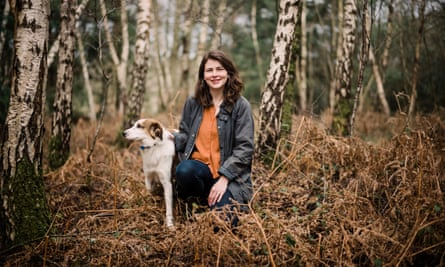 'We are nature' … Tiffany Francis in Alice Holt forest, Surrey.