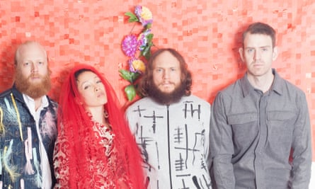 'We sometimes struggle to finish songs' … Little Dragon.