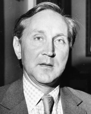 Crispin Tickell in 1976