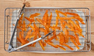 Take the pith: candied peel.