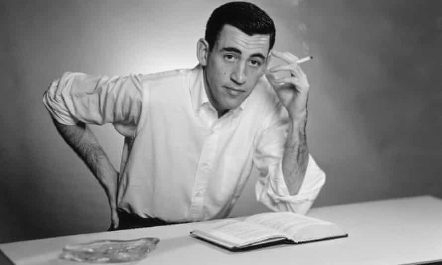 Tiverton's un-phony charms ... JD Salinger in 1952.