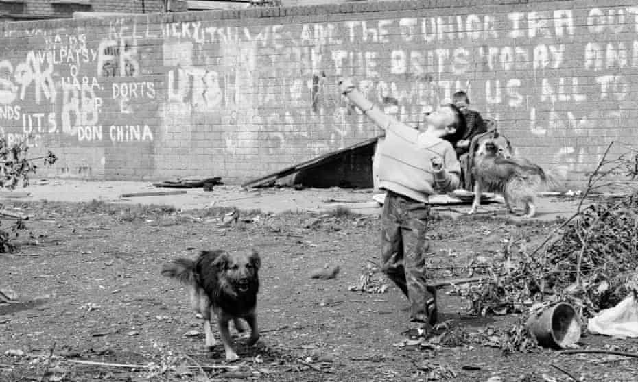 Belfast, 1984, when Gail McConnell's father was murdered by the IRA