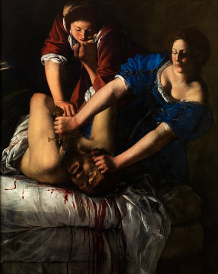 Gleefully violent … Judith Beheading Holofernes in full.