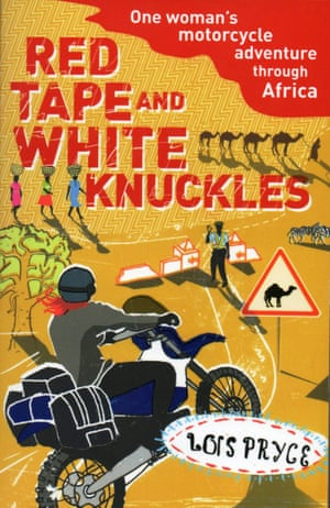 Lois Pryce, red tape and white knuckles