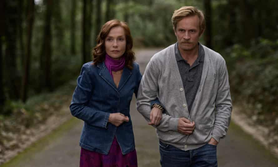 Isabelle Huppert with Jérémie Renier in Frankie