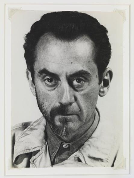 Man Ray's Self-Portrait with Half Beard, 1943