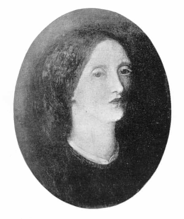 Siddal's self-portrait.