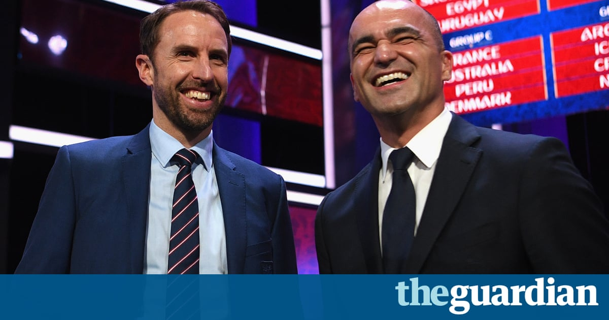 England manager Gareth Southgate on the World Cup draw – video