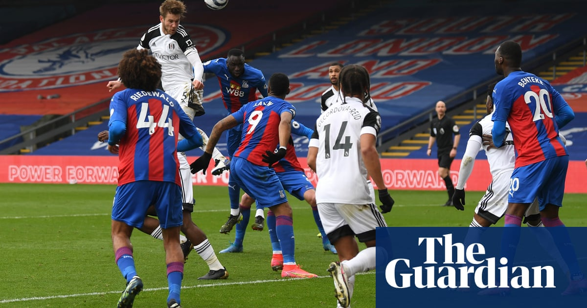 Fulham frustrated by missed chances in goalless draw at Crystal Palace