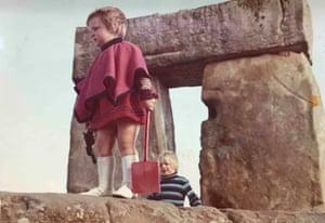Stonehenge in 1971 by Laura Bradley.