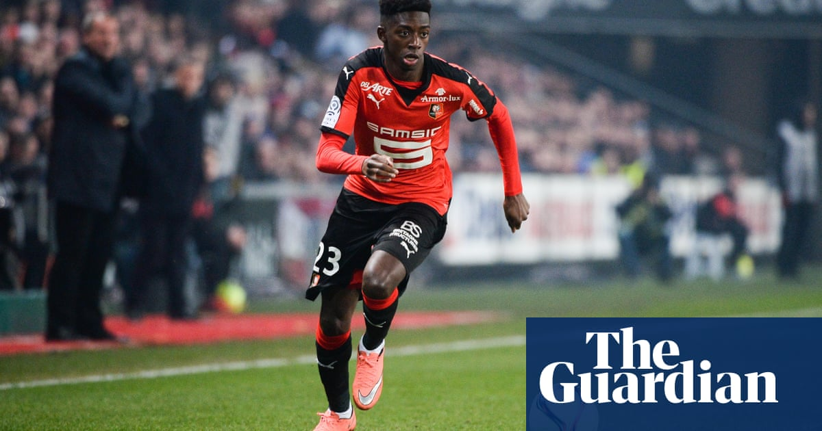 8a0b00ad5c2 Ousmane Dembélé: football's hottest property, if you can convince his mother