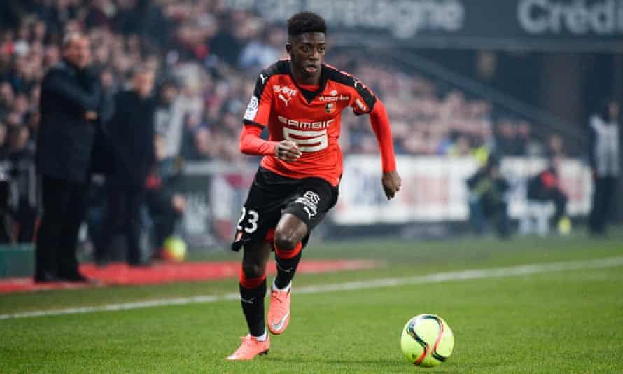 No player younger than Ousmane Dembélé has ever scored 10 goals in a Ligue 1 season.