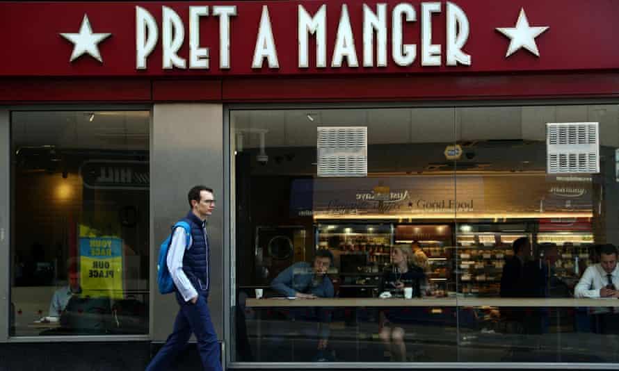A Pret a Manger in London in 2019.