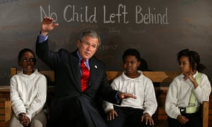 """Bush: """"unleashed an almost religious faith in market forces and a broad assault on trade unions"""""""