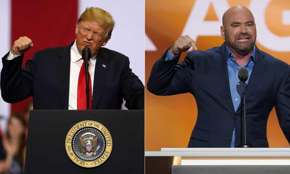 Donald Trump helped Dana White's UFC regain legitimacy at a time when it was struggling